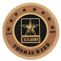 U.S. Army Wall Clock - Custom