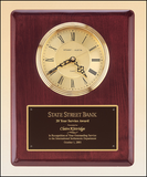 Rosewood Piano Finish Vertical Wall Clock