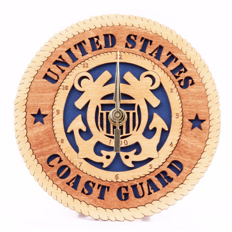 U.S. Coast Guard Desk Clock - Standard