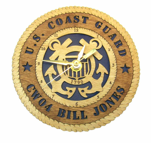 U.S. Coast Guard Desk Clock - Premier