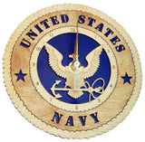 U.S. Navy Desk Clock - Standard