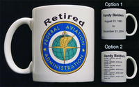 11 oz. Retirement Ceramic Coffee Mug