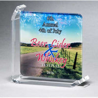 Sublimated Glass Award - G3002 Series