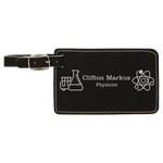 Laserable Leatherette Luggage Tag