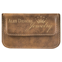 Leather Engraved Card Case