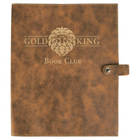 Laser Engraved Book and Bible Soft Covers - Large
