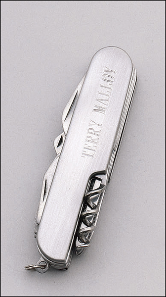 "11-Function Pocket Knife 3/4"" x 3-1/2"""
