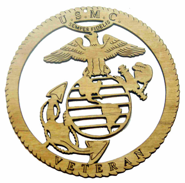 Us Marine Corps Ornaments Just Write Laser Engraving