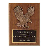 American Walnut Plaque w/ Eagle Casting