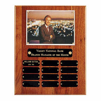 American Walnut Photo Perpetual Plaque