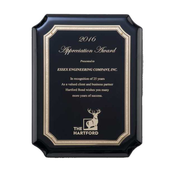 Black High Gloss Plaque - P5077 Series