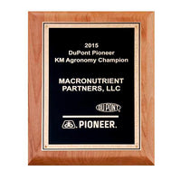 Alder Wood Plaque - P5267 Series