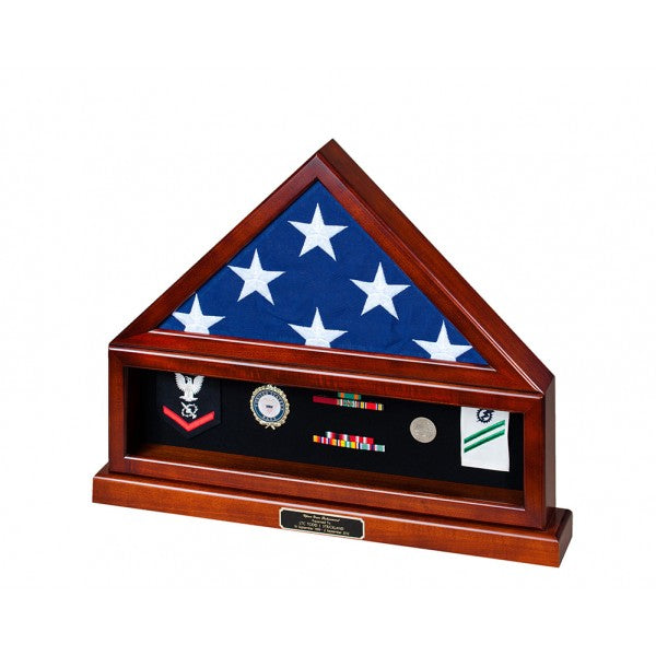 Appalachian Hardwood  Flag Display Cases