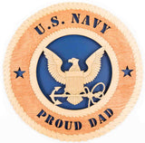 U.S. Navy Wall Tribute - Standard