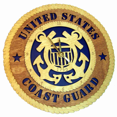 U.S. Coast Guard Wall Clock - Standard