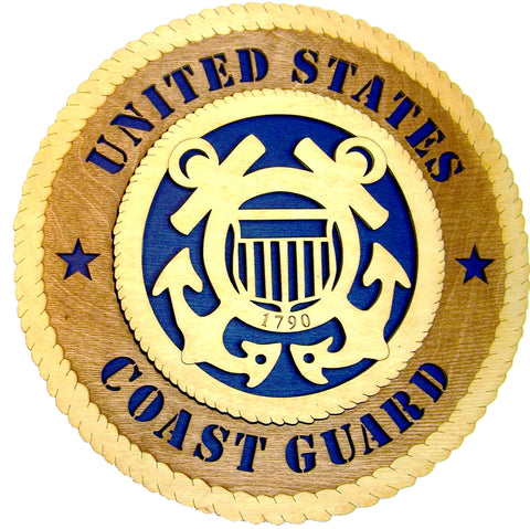 U.S. Coast Guard Wall Tribute - Standard