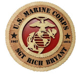 U.S. Marine Corps Wall Tribute - Custom