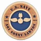 U.S. Navy Wall Tribute - Custom - Discontinued Ratings