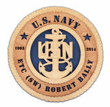 U.S. Navy Wall Tribute - Premier - Qualification Badges/Staff Corps Insignia/Navy Emblem/Ranks
