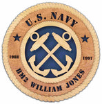 U.S. Navy Wall Tribute - Premier - Current Ratings