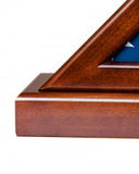 Appalachian Hardwood Flag Display Case - FB-250 Series
