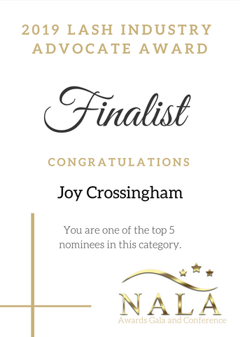 NALA Award - Joy Crossingham