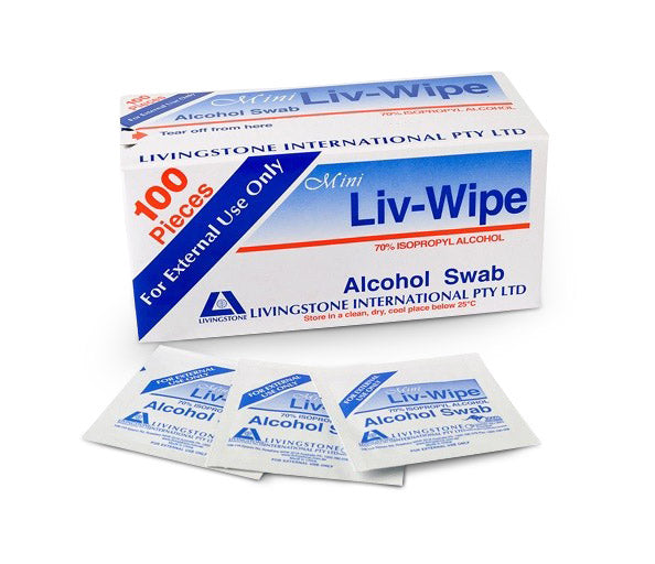 Isopropyl Alcohol Swabs Wipes Brisbane Australia