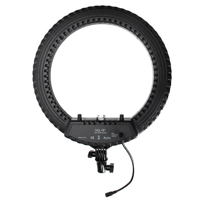 "Diva Ring Light LED HQ 18"" Set - BLACK"