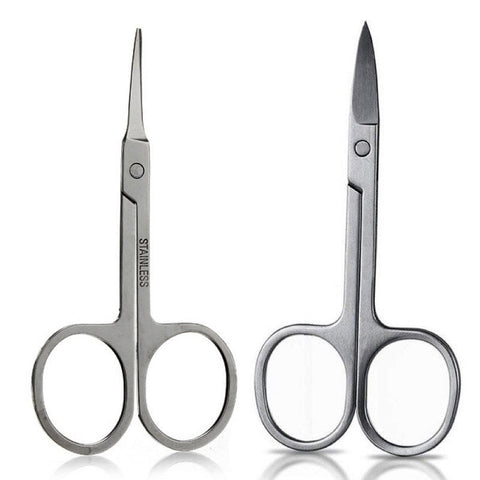 Curved Lash and Brow Scissors