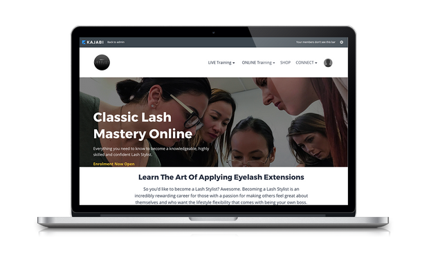 Classic Lash Mastery Online Course