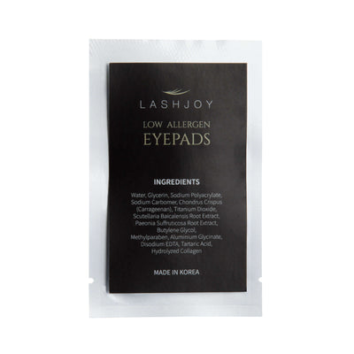 Eyepads Low Allergen Silver Packet