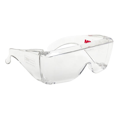 Clear Over Specs Protective Safety Glasses