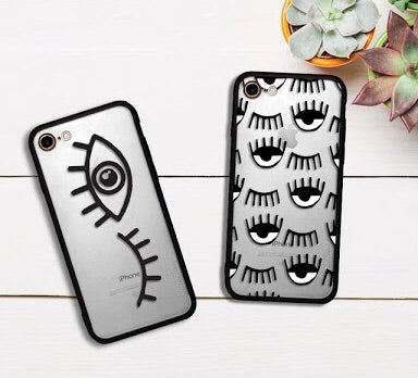 Silicone Wink Eyelash iPhone Case