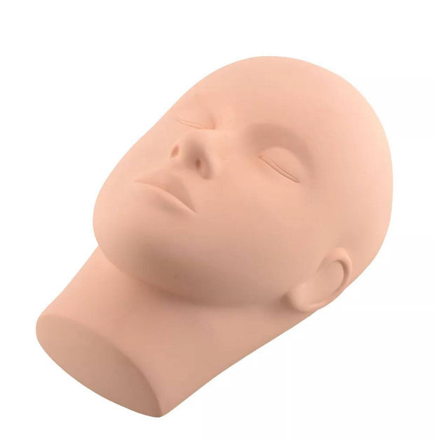 Training Mannequin Head for Eyelash Extension