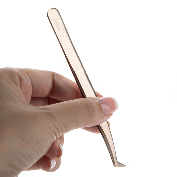 Rose Gold Short Foot Tweezers