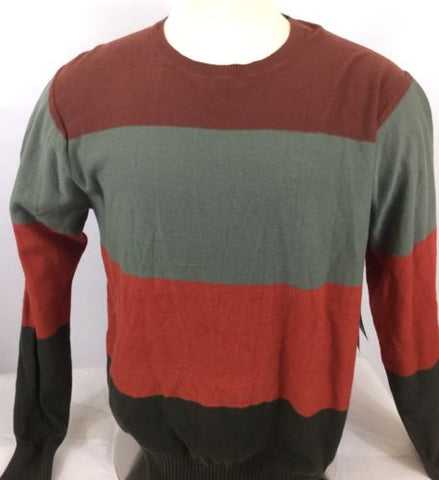 New Men's RVCA Men's Gauged Crew Sweater Sz XL Ij67