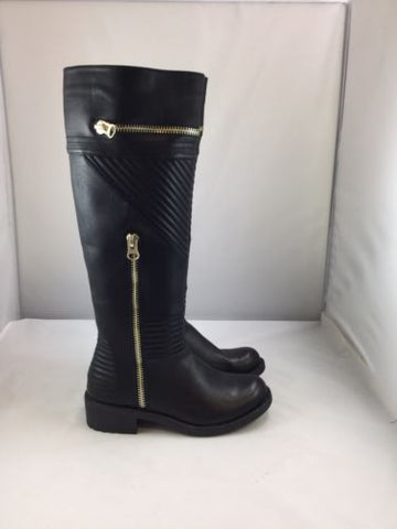 Extreme by Eddie Marc Women's Black Synthetic RIDING BOOTS Size 7 M $129 D10