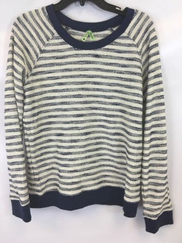 Honeyden Women's Blue Knit Sweater 62$ Sz L IJ