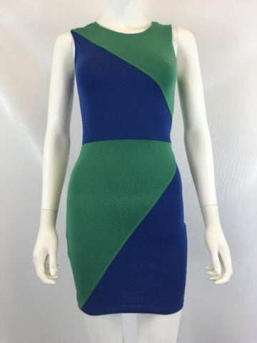 Donna Mizani Women's Multi Color Dress Sz XS I616