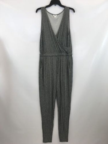 Weston Women's Black/white Romper Sz L $106 I55