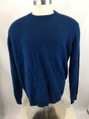 Nordstrom Men's Shop Cashmere Crewneck Sweater Sz XL *i615