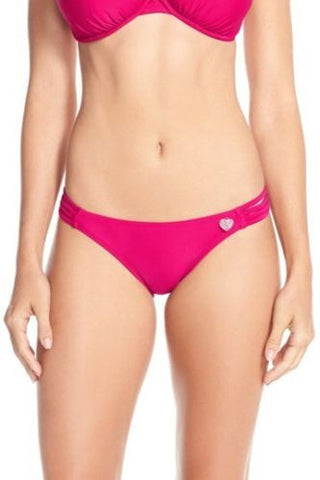 Body Glove Women's Fascia 'Flirty Surf Rider' Bikini Bottoms Sz Petite S *i614