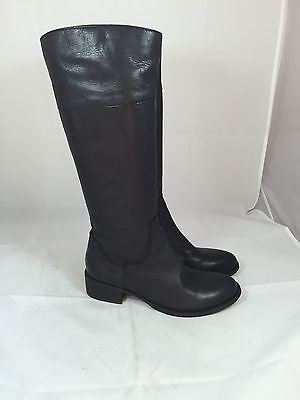 BP Black Knee High Leather Boots 5 M B2