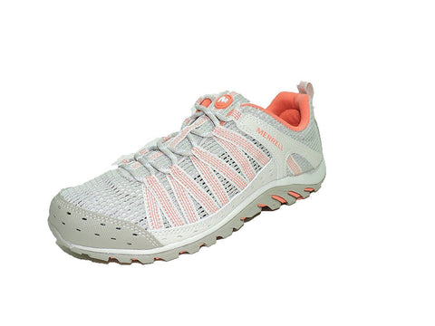 Merrell Women's Hymist Walking Hiking Shoes Fashion Sneakers Mesh Lining/coral