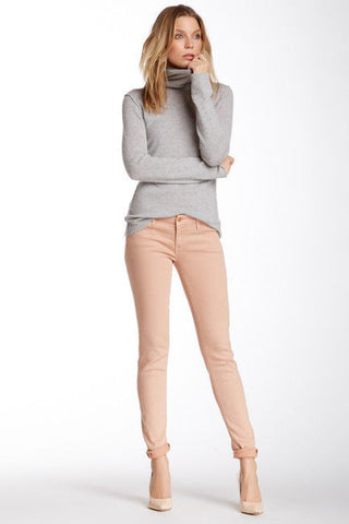 MOTHER Women's The Looker Skinny Jean-Sand Dunes Size 26 $185 *n5/29