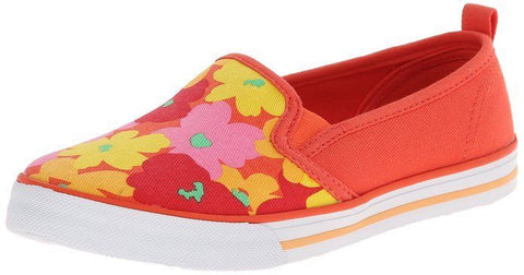 Hanna Andersson Girl's Lillian Kids Cabana Floral Canvas Slip-On Flats 9 M C9