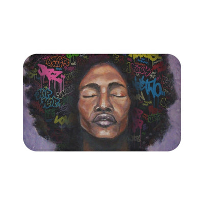 NEW Afro Male Bath Mat