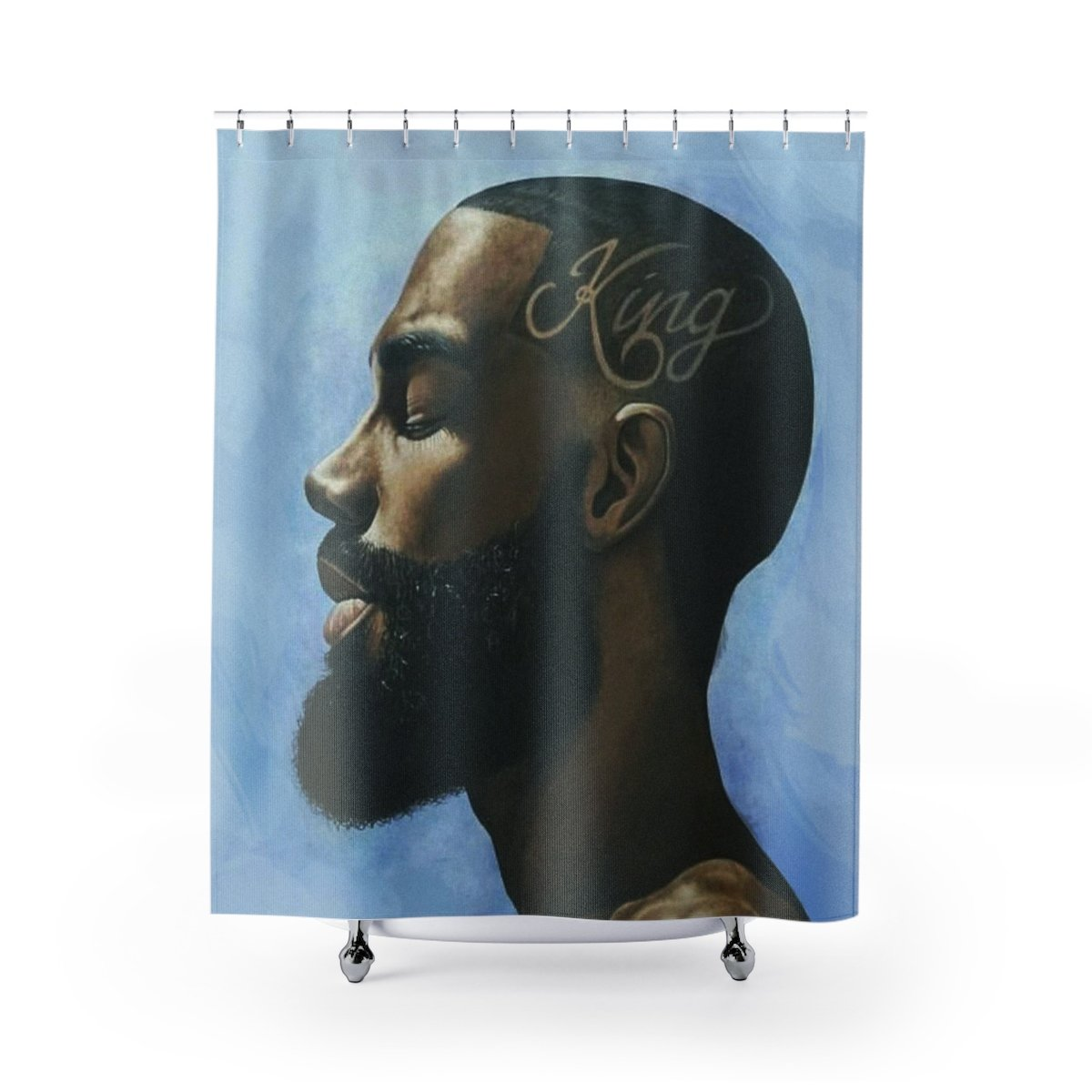 NEW King Shower Curtain