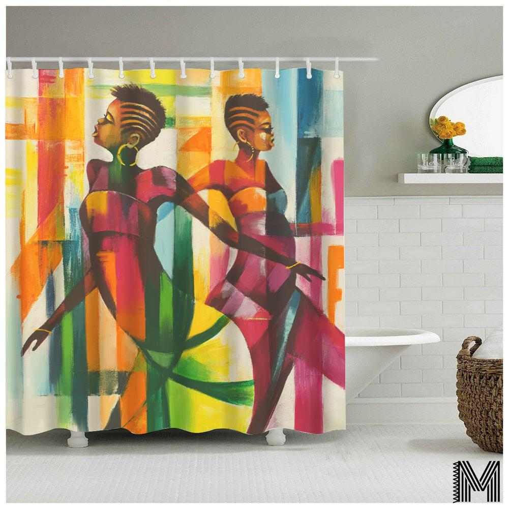 Batswana Shower Curtain