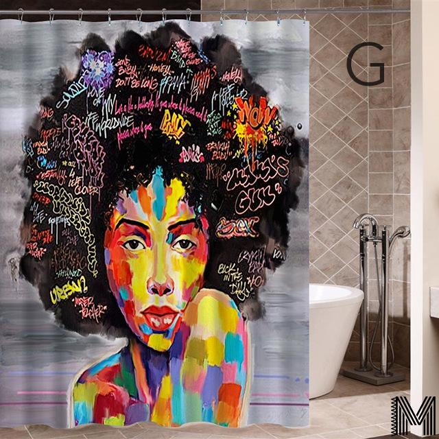 Modern Mona Lisa One Shower Curtain